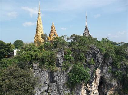 Phnom Sampov has a rich and sometimes dark history to discover. Courtesy Battambang Tourism