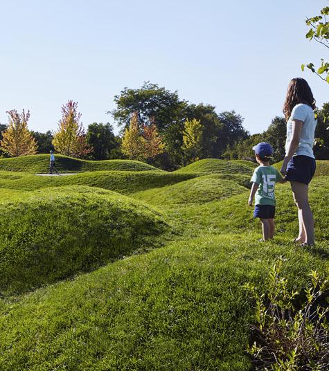 The Chicago Botanic Garden draws heavily on Kim's philosophy of multisensory experiences. Courtesy Mikyoung Kim Design