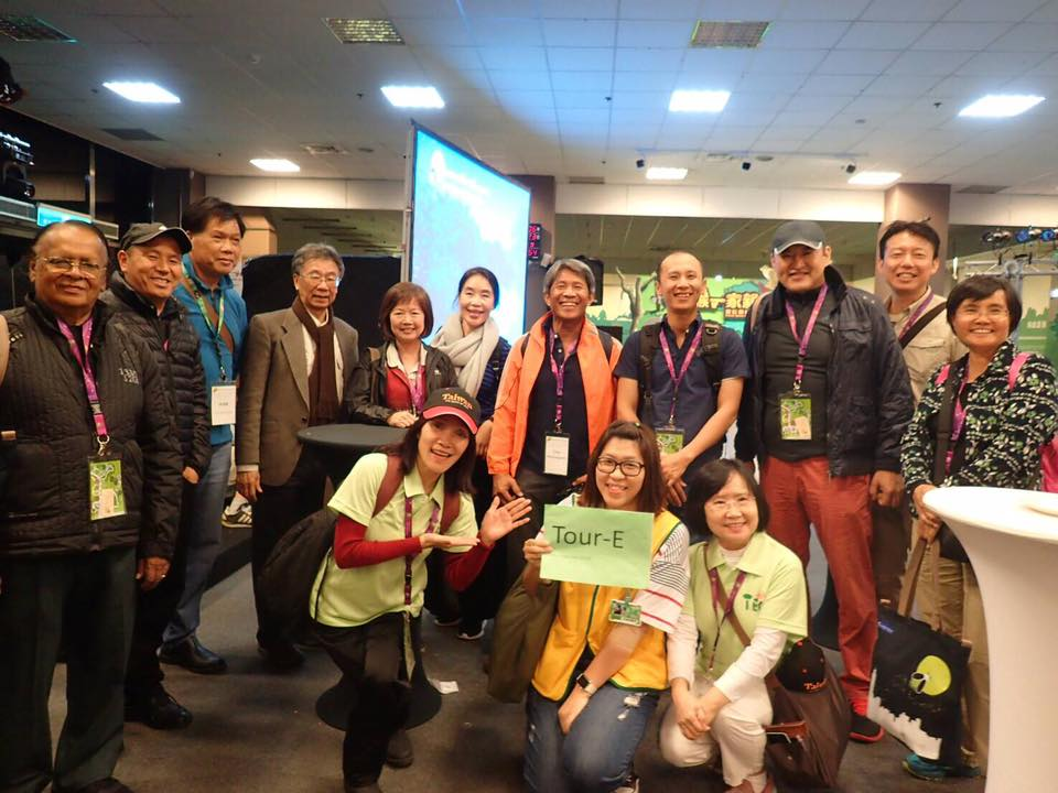 AEN Board Members share their experiences at the Taiwan Ecotourism Association AGM