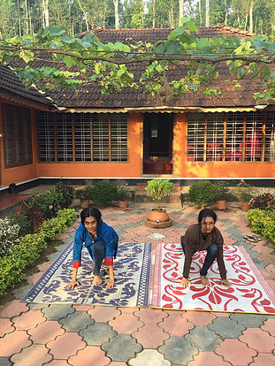 Yoga and other rejuvenating activities come easy with SaveAGram stays in India.