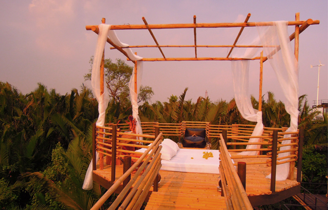 The View with a Room is about the scenery, not five star fittings.Courtesy Tree House.