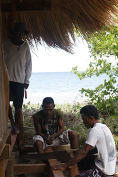 . . . using local builders, too. Photos of Atauro, Timor-Leste by Jeremy Torr