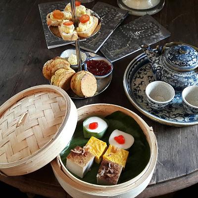There's no time like tea time at the Villa Samadhi Singapore