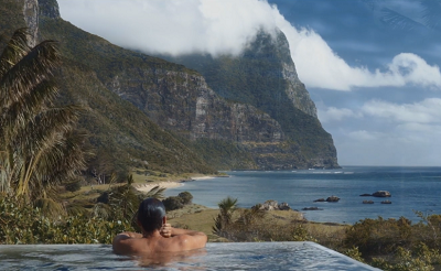 From sea level to 875m in one glance. Only to be found on Lord Howe Island.Courtesy Capella.
