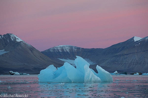 Michel Rawicki photographs ice for its majesty and discusses its role in the balance of nature
