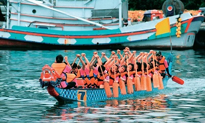 Many of the festivals are held on traditional fishing ports. Courtesy Keelung Govt.