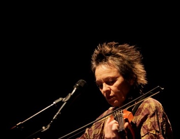 Andy Warhol muse Laurie Anderson will play Dark MOFO this year. Courtesy Laurie Anderson.