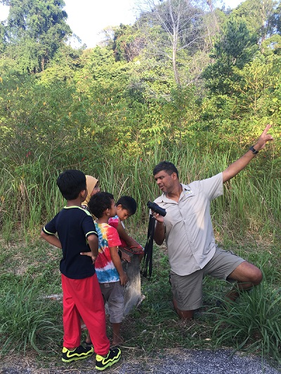 Andrew Sebastian gets children involved in crusading for the environment starting with learning about nature