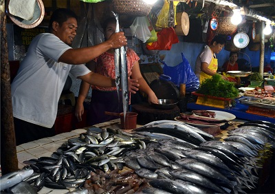 Fish provide some the majority of Filipinos with their regular protein intakes.Courtesy H.D.Tacio.
