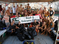 Raya Divers go deep in Andaman Sea to get trash out