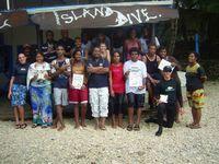Local act is tops at Vanuatu in measuring reefs, assisted by Hideaway Resort