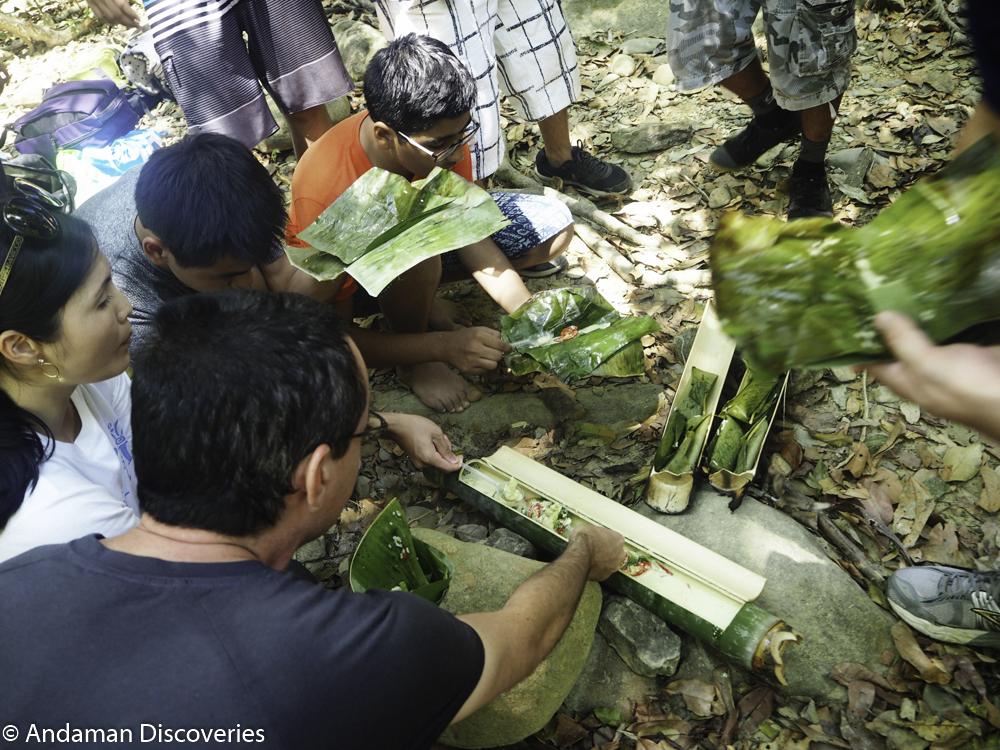 Jungle survivor exercise at Khao Sok National Park. (Pic Credits: Andaman Discoveries)