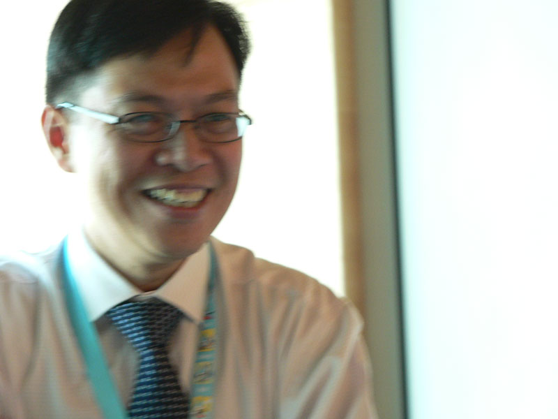 Michael Toh upbeat about Water Week.