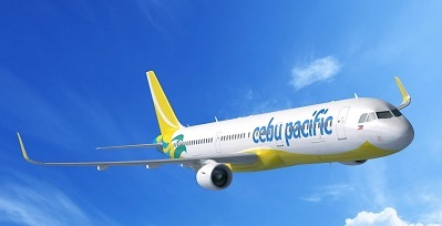 Cebu Pacific is aiming for the maximum fuel efficiency and minimal emissions with its new aircraft. Courtesy Cebu Pacific.