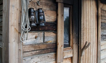 It's wood all the way for the majority of Finnish saunas. Courtesy VisitFinland.