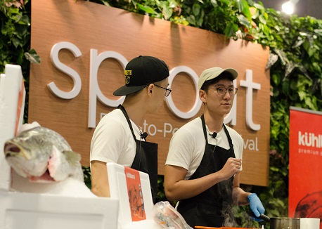 Cooking demos will also feature at SPROUT. Courtesy Suntec.