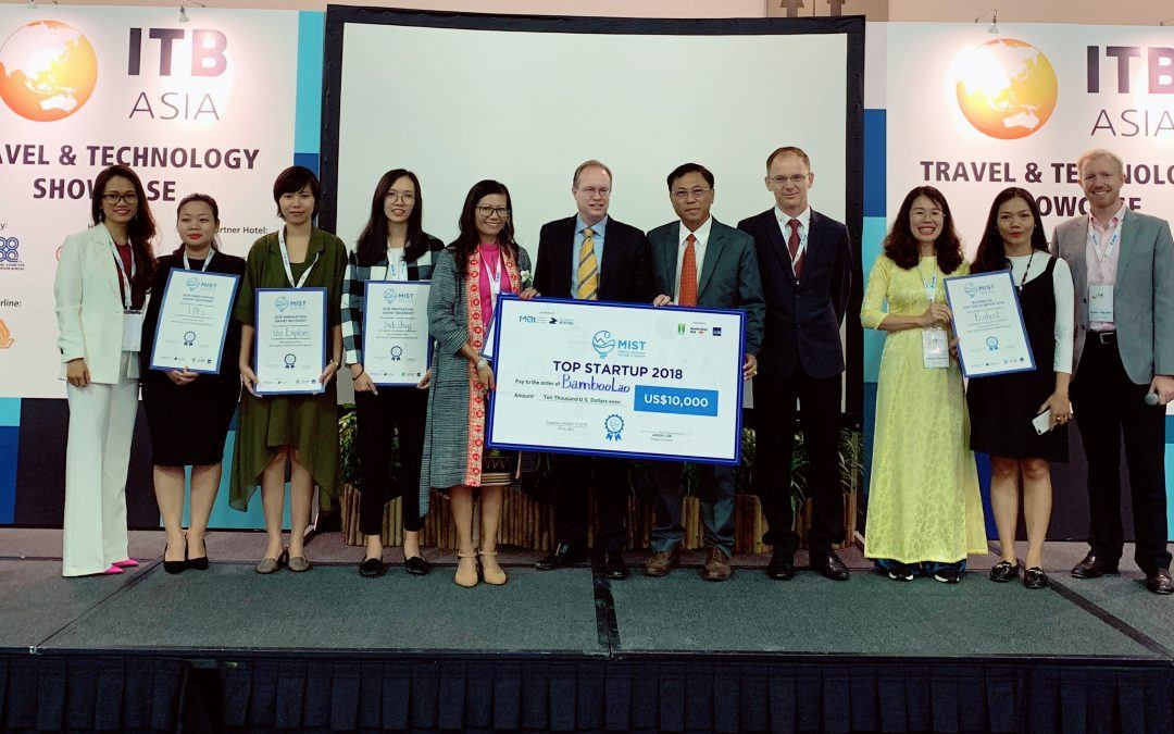 Innovative startups in tourism are getting recognition, mentorship and a boost for their funds through the Mekong Innovative Startups in Tourism. Picture courtesy: MIST 2018