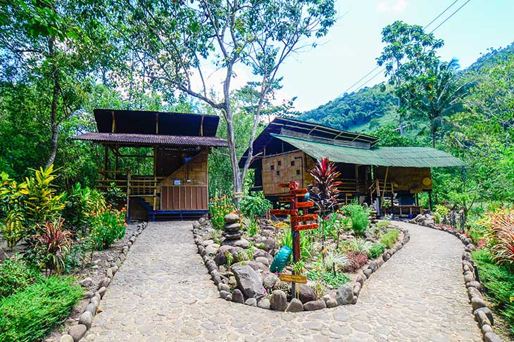 The Fig Tree made of bamboo and local materials is a popular choice of stay at Kiulu Farmstay, a social enterprise in Sabah ecotourism. Courtesy: Kiulu Farmstay