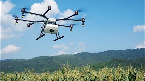 Drones are already seeing extensive use by farmers wordwide. Courtesy DJI