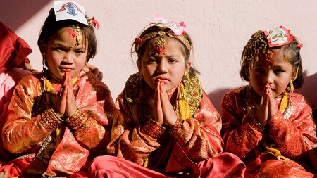 Nepalese culture is a valuable and living entity in its own right. Courtesy Nepal Tourism.