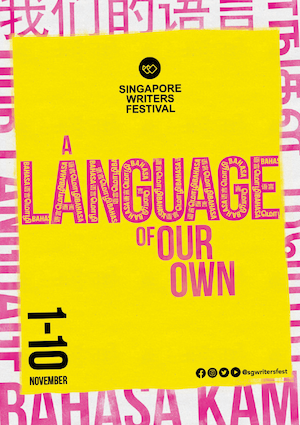 Singapore Writers Festival is on from 1 to 10 November in the Civic District.