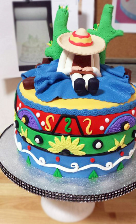 Fios de Mel by Elizabete Costa Cakes and Sweet New York -  1 tier cake mexico.jpg