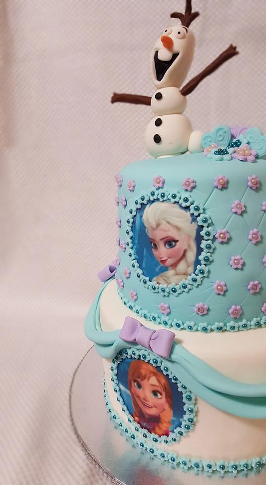 Fios de Mel by Elizabete Costa Cakes and Sweet New York -  2 tier disney frozen cake.jpg