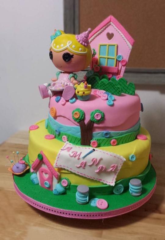 Fios de Mel by Elizabete Costa Cakes and Sweet New York -  2 tiers Lalaloopsy cake.jpg