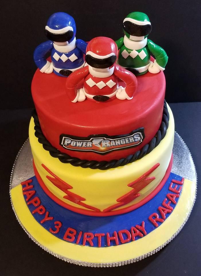 Fios de Mel by Elizabete Costa NYC - Cakes - Kids Power Rangers.jpg