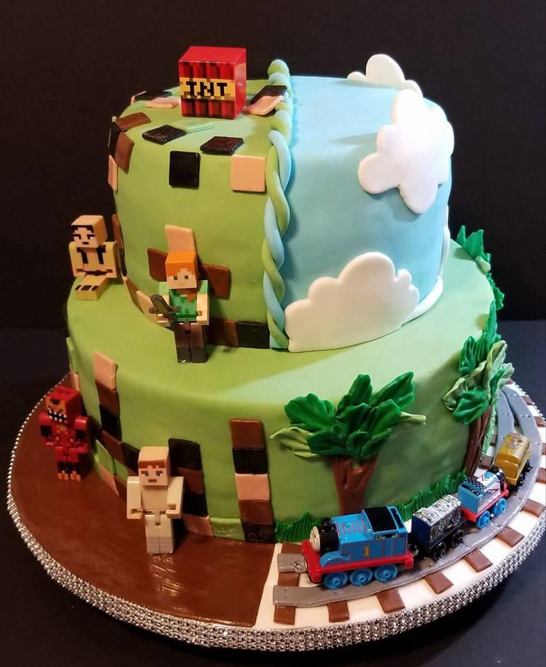 Fios de Mel by Elizabete Costa NYC - Cakes - Minecraft.jpg