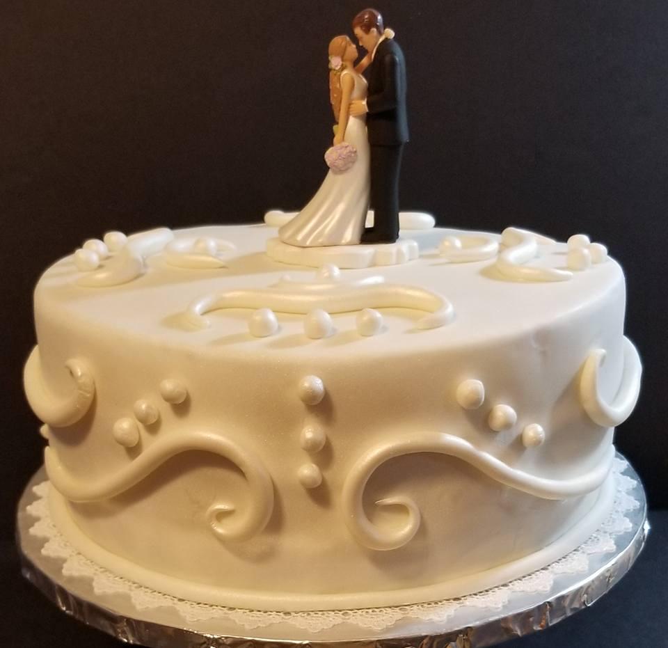 Fios de Mel by Elizabete Costa NYC - Cakes - Wedding Couple.jpg
