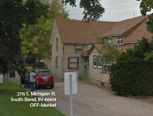 Multi-Family Home plus adjoining Townhome - 2711 S. Michigan St.South Bend, IN 46614• Cash Price: $59K plus Assignment Fees• ARV at Market Cap: $132K• Occupancy: 50%