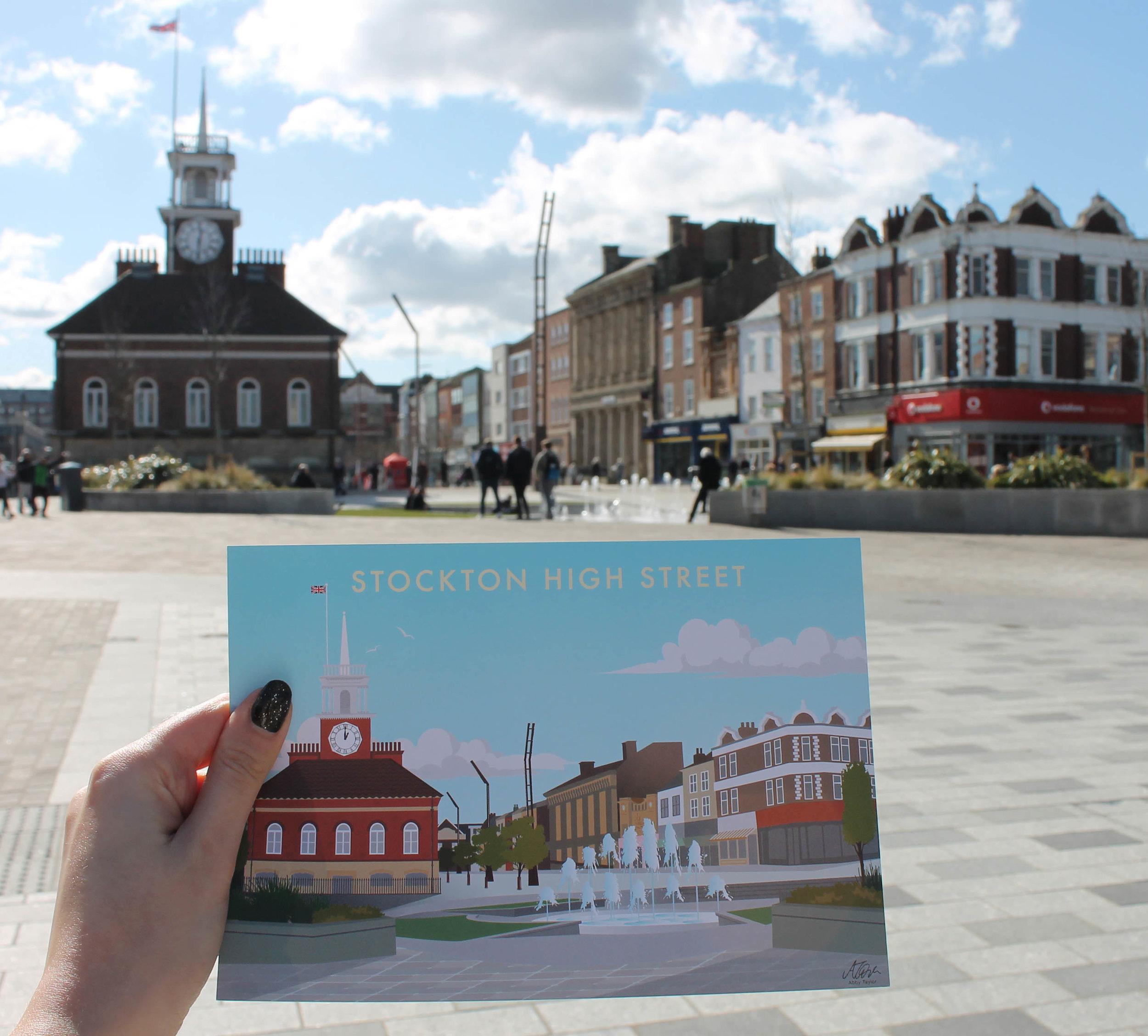 stockton high street print in situ - small.jpg