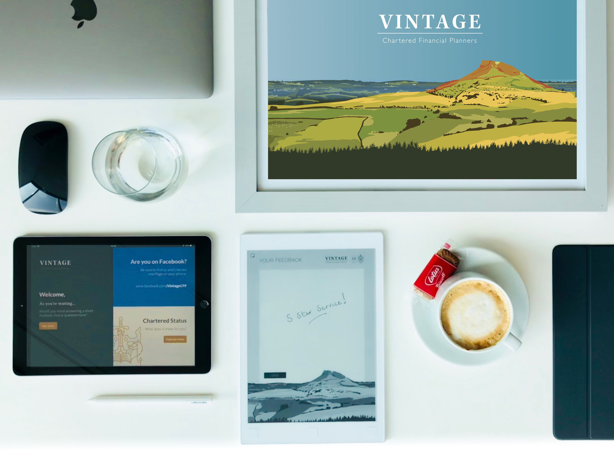 Vintage Chartered Financial Planners - Abby Taylor Artwork