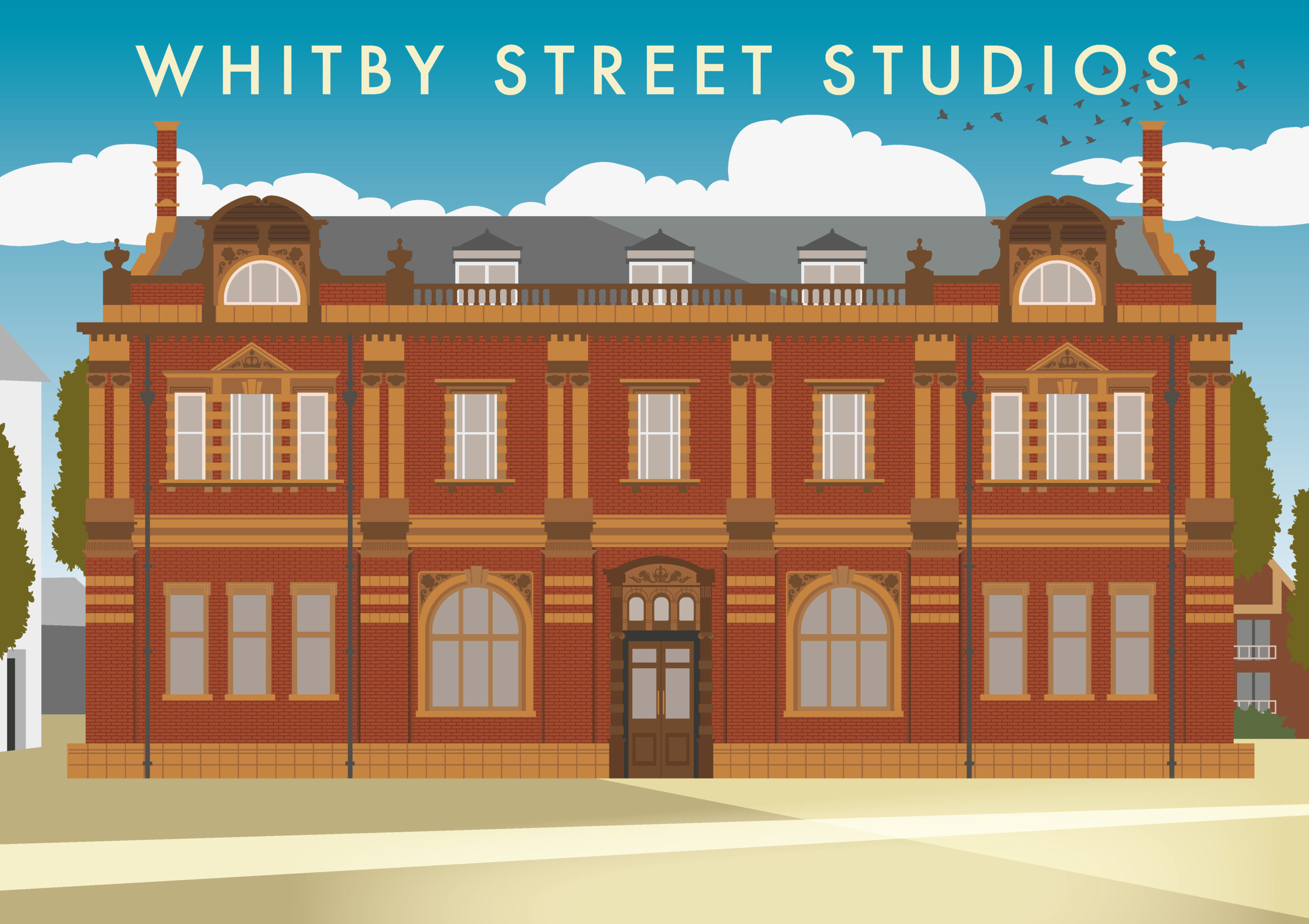 The Northern School of Art - Whitby Street Studios (Hartlepool) Illustration