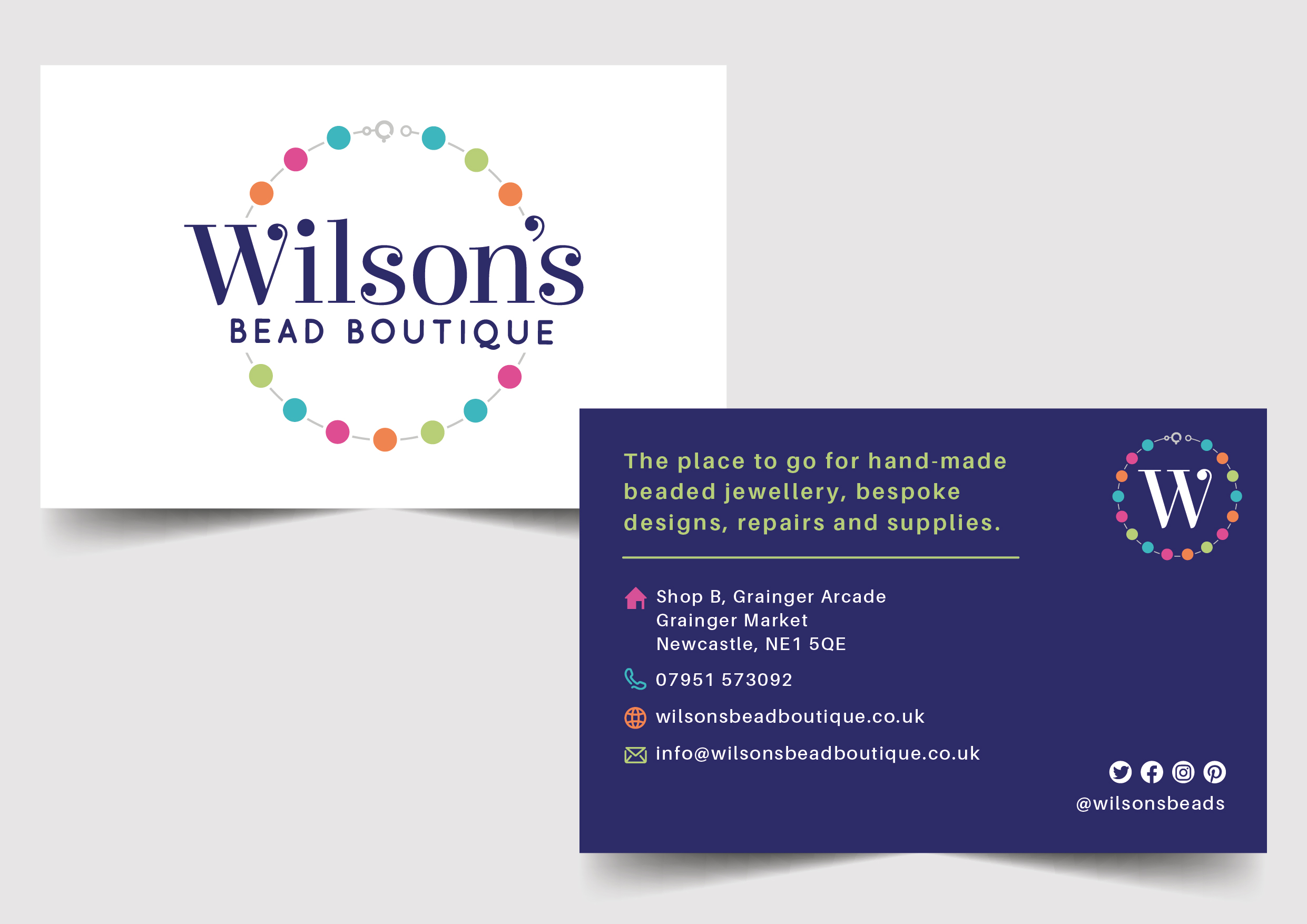 Branding - A beautiful brand is vital for any business. Whether that's creating a brand for a new business, or a rebrand or brand refresh, it can completely transform the way your clients or customers perceive you.