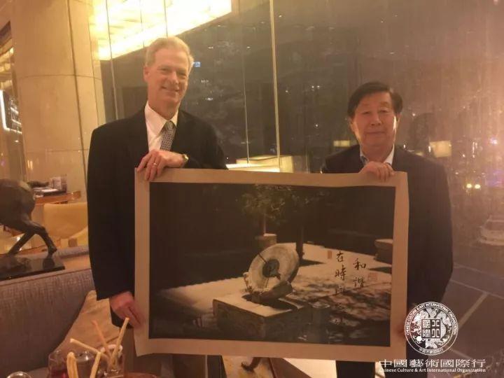 斯蒂文赠予刘大为先生摄影作品