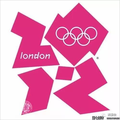 ▲ 2012年伦敦奥运会会徽