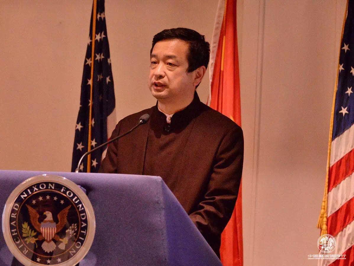 中国驻洛杉矶领馆文化参赞 古今先生