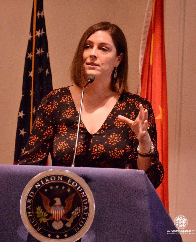 理查德·尼克松总统图书暨博物馆副总裁 Nicole Parsons女士