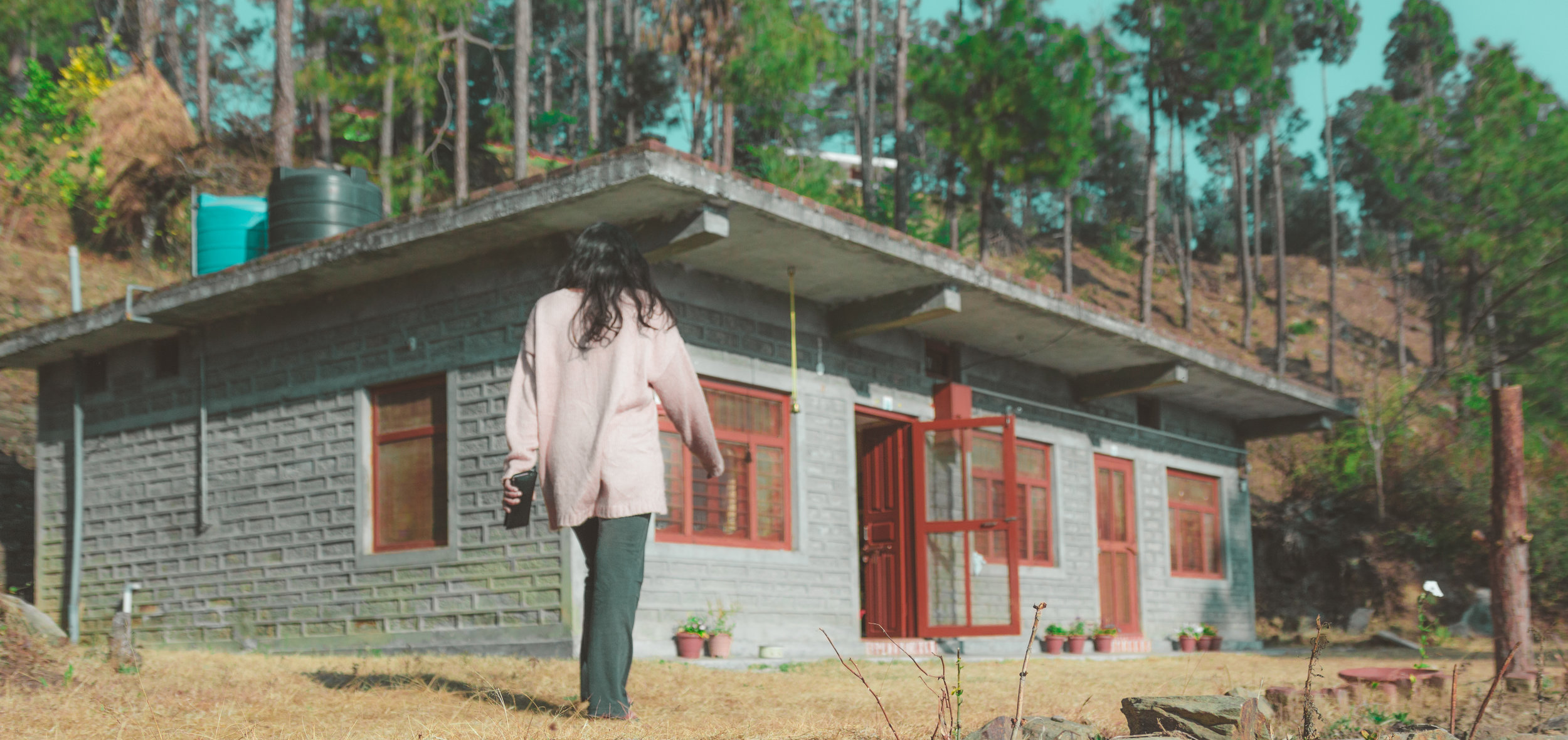 Nitya's ex-home in Papersali, Almora. We were lucky to stay there.