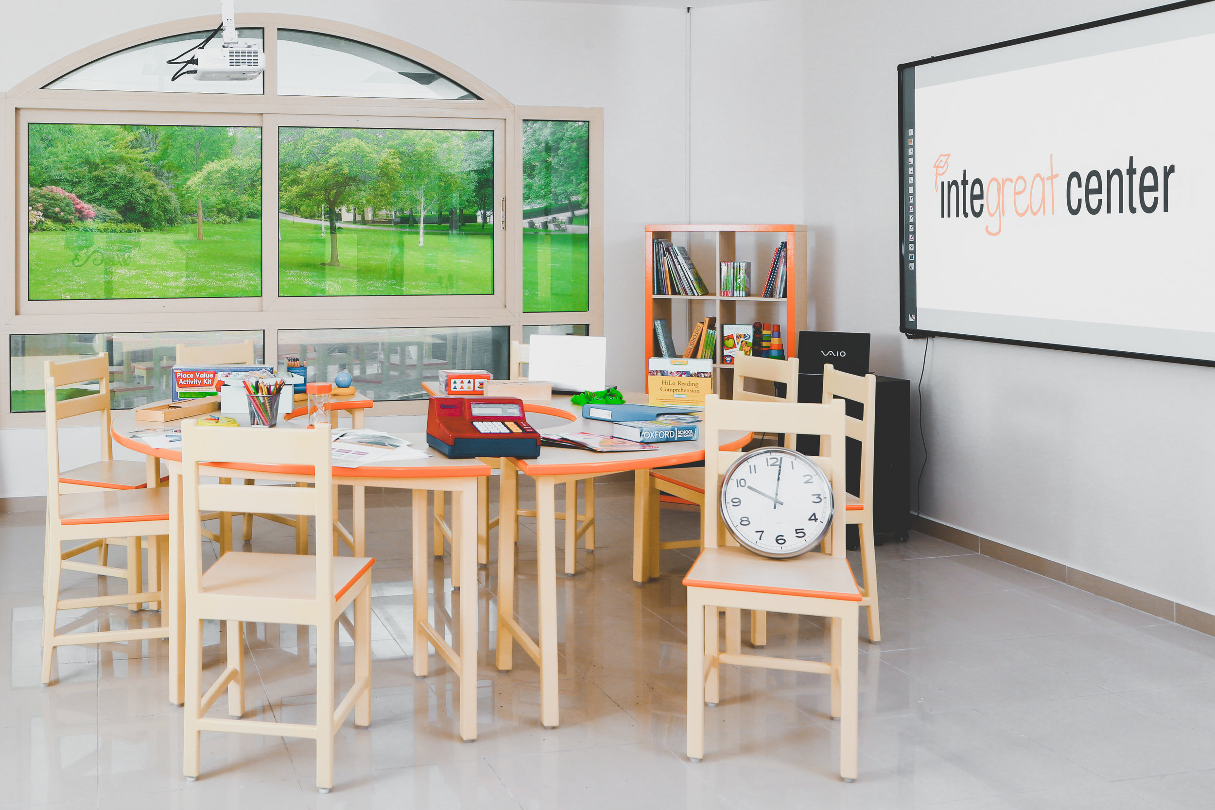 Integreat Center Classrooms