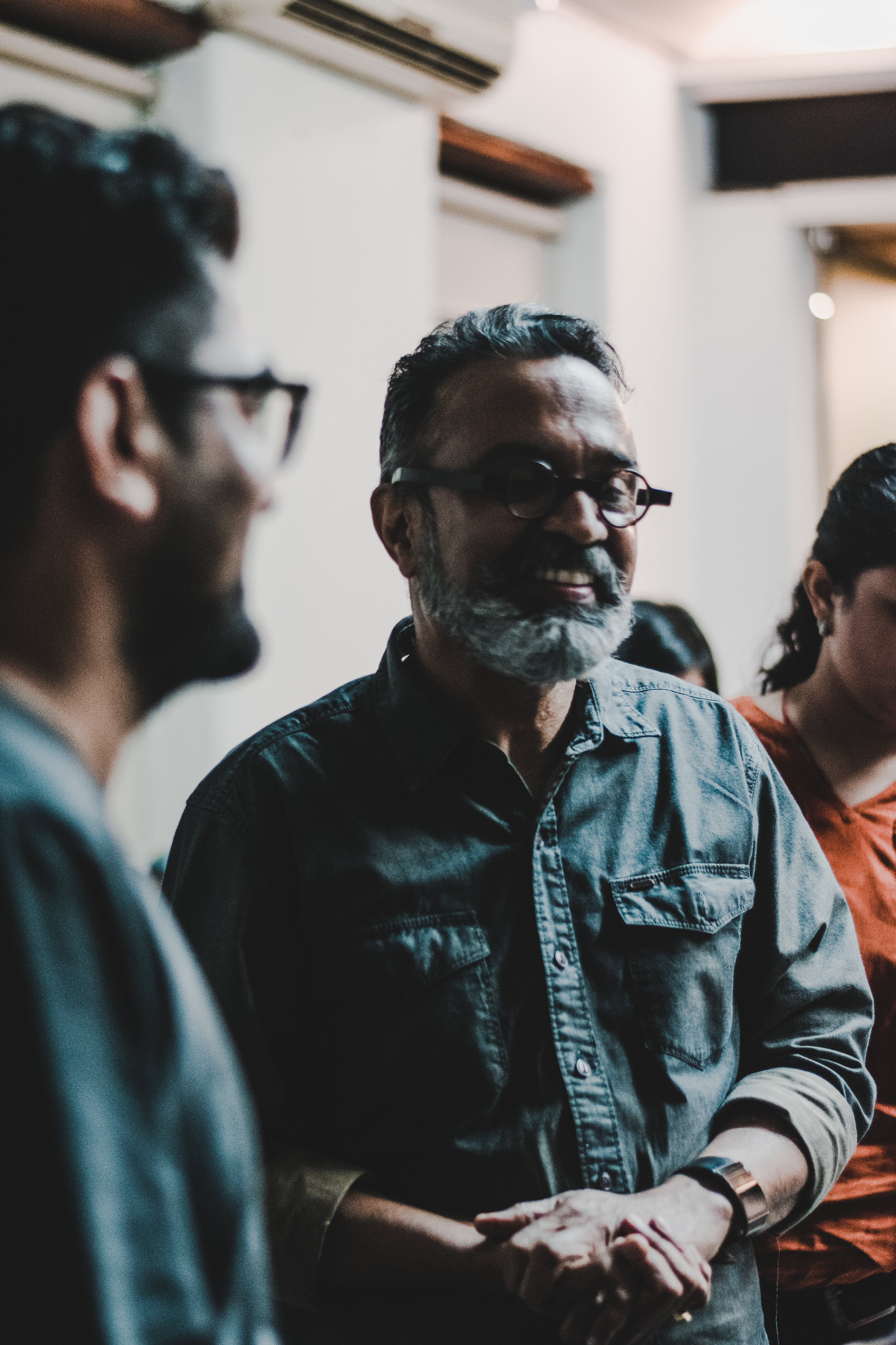 Sunil Gawde (Father), known to be a constant innovator, on detailing in Contemporary Art