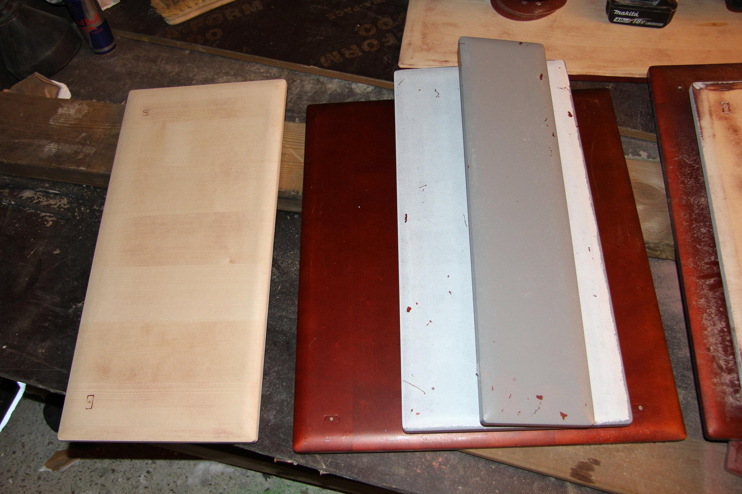Keittiökaapiston ovet mekaaninen pintakäsittely 2.JPG