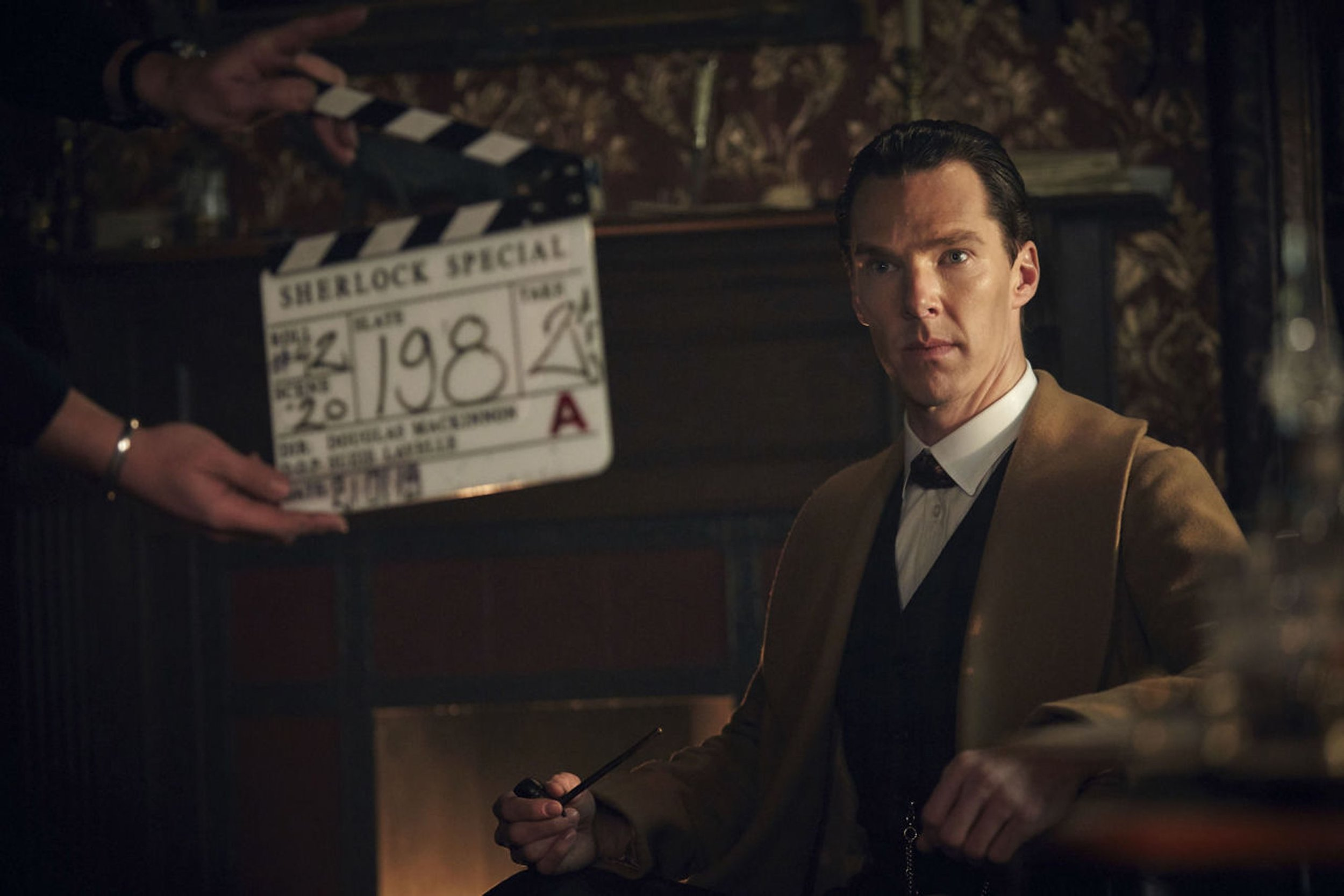 Sherlock The Abominable Bride - filming on set at The Bottle Yard Studios_ image courtesy Hartswood Films & BBC-s.jpg