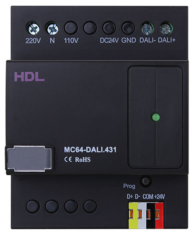 """If your it has the 220 or L or N terminals at the top of the unit, then you can only upgrade to the firmware called """"Legacy"""" in the description.  If your DALI module looks like none of the above, then please contact support@hdluk.co.uk"""