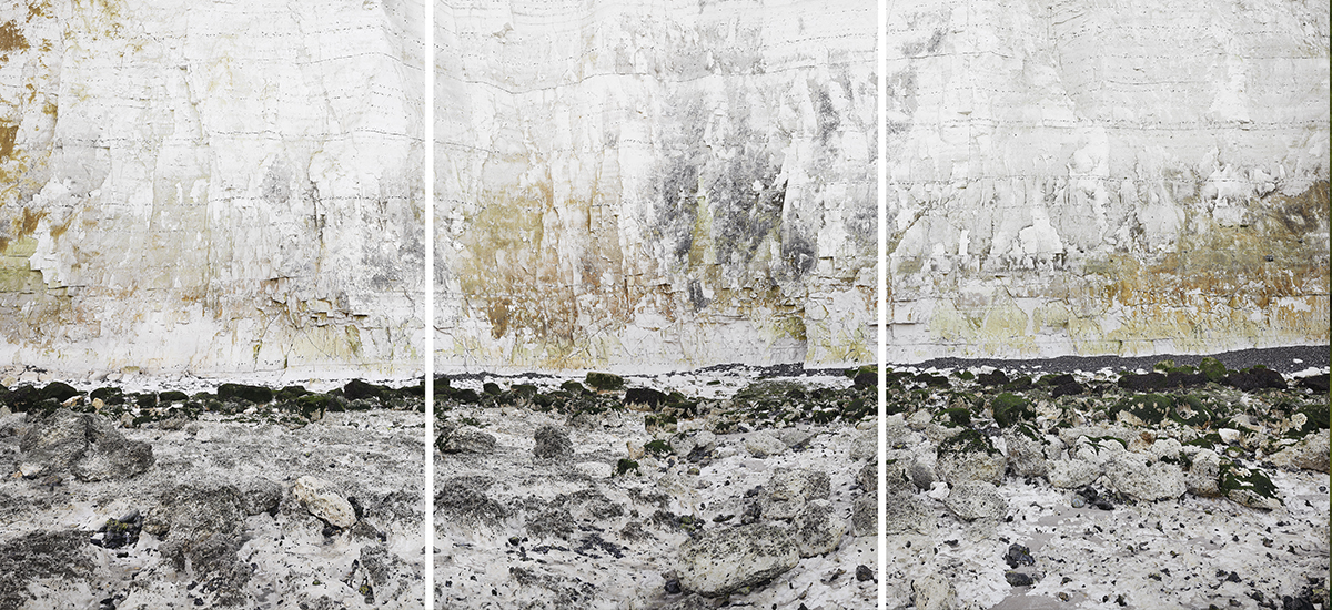 Falaise #8, Edge of Silence (France Normandy)  Pigment print on pure cotton paper - 145 cm x 210 cm - 2013