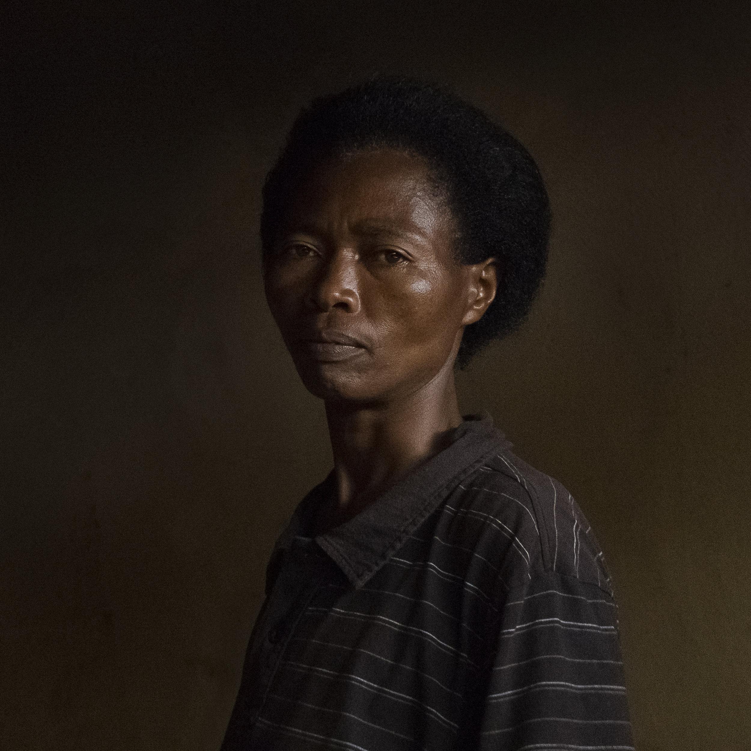 Josephine, Ibaba serie, Rutongo, Rwanda  - 2016 © Marie Moroni