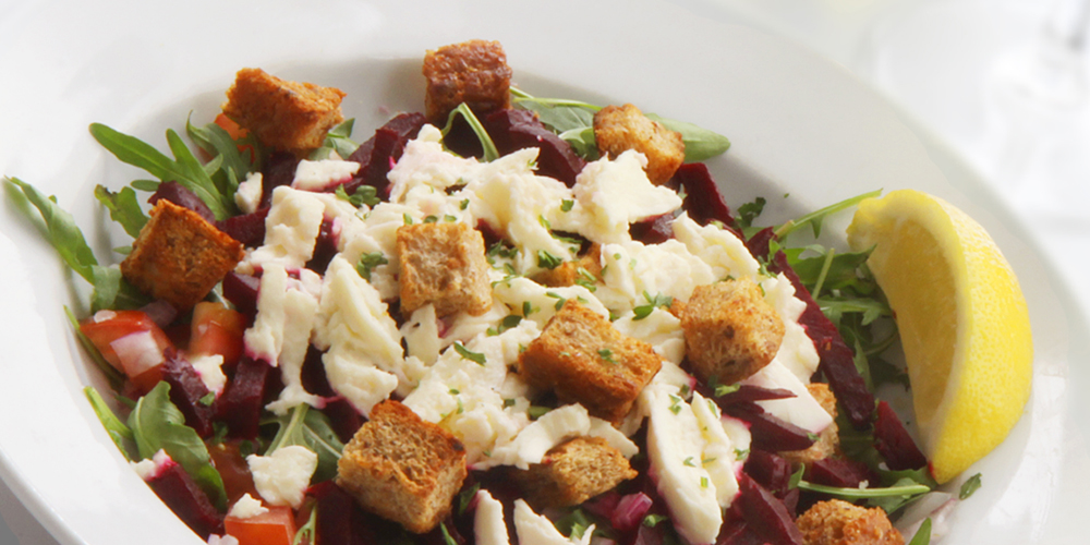 Salads - Freshly prepared salads with your choice of topping