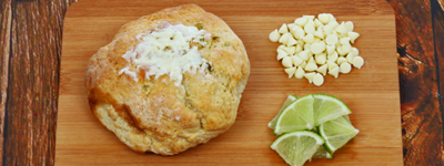 White Chocolate & Lime -
